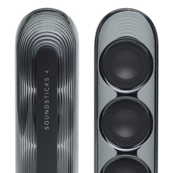 Harman Kardon SoundSticks 4 - Black - Bluetooth Speaker System - Detailshot 4