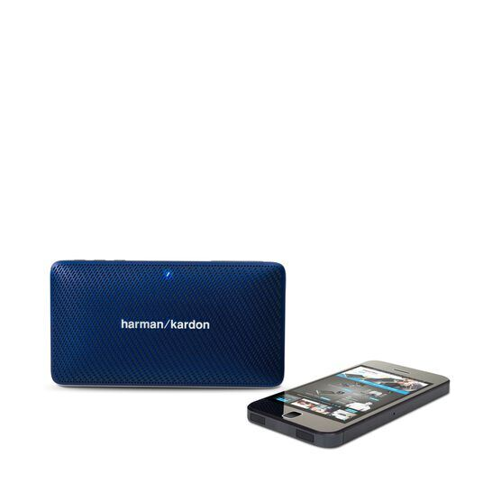 Esquire Mini - Blue - Wireless, portable speaker and conferencing system - Detailshot 5