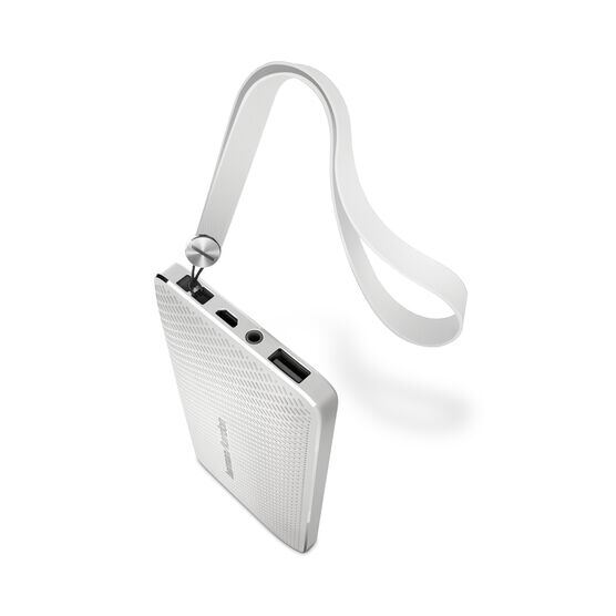 Esquire Mini - White - Wireless, portable speaker and conferencing system - Detailshot 1