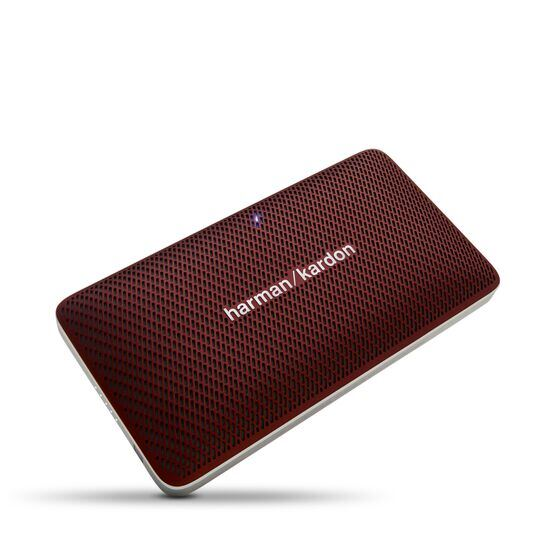 Esquire Mini - Red - Wireless, portable speaker and conferencing system - Hero