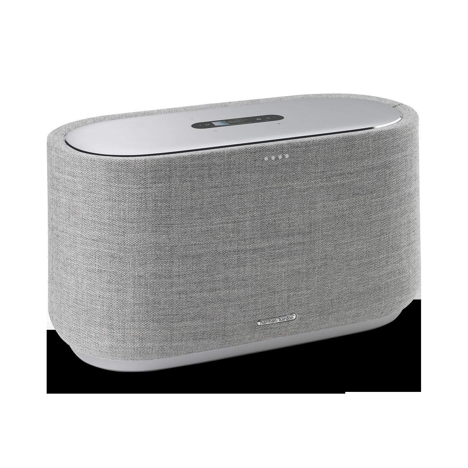 Harman Kardon Citation 500 - Grey - Large Tabletop Smart Home Loudspeaker System - Hero